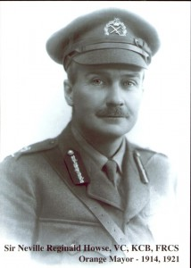Sir Neville Howse VC. Image courtesy Orange City Library.