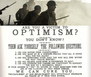 Are you a victim to optimism