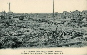 Albert en ruines. Image in public domain.