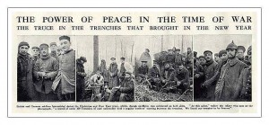 Christmas Truce 1914. Image in public domain.
