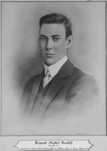 Herbery Rockliff, Deputy Town Clerk. Image courtesy Orange City Library.