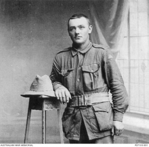 Walter Newton. Image courtesy Australian War Memorial.