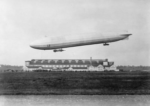 German zeppelin L9. Image courtesy Imperial War Museum.