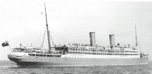 HMT Royal Edward, c.1910–14. Image in public domain.
