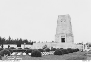 Lone Pine Cemetery, Gallipoli Peninsula, Turkey, 1936. Image courtesy Australian War Memorial.