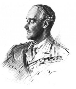 Sir Archibald Murray c1916 by unknown artist. Image in public domain.