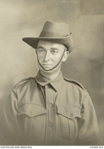 Edmund Arthur Ashdown. Image courtesy Australian War Memorial.