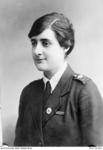Vera Deakin, 1918. Image courtesy Australian War Memorial.