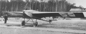 The Junkers J1, the first all metal aircraft, Germany, December 1915. Image in public domain.