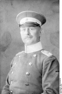 General Paul von Lettow-Vorbeck, 1913. Image courtesy German Federal Archives.
