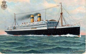 SS Tubantia. Image courtesy http://www.machuproject.eu/