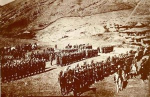 Turkish forces at the Bitlis front, March 1916. Image courtesy Republic of Turkey Government.