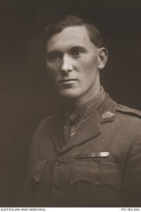 Youngest Australian Victoria Cross recipient JWA Jackson. Image courtesy Australian War Memorial.