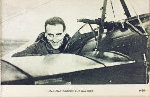 French flying ace Jean Navarre. Image courtesy Wikimedia Commons.