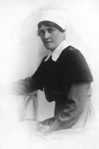 Nurse Florence McDonald. Image courtesy Vera Pickford.