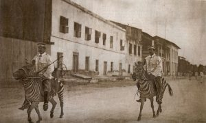 German cavalry in East Africa 1911. Image in public domain.