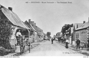 The village of Pozieres, France, 1913. Image courtesy Australian War Memorial.